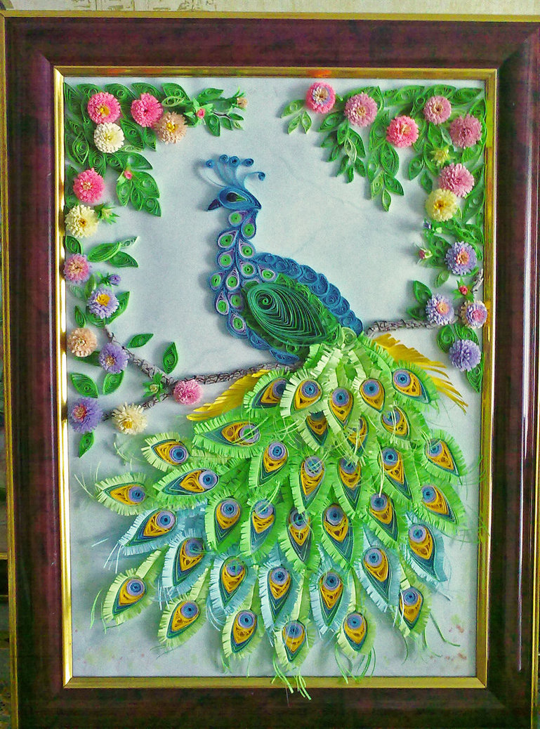 Paper Quilling Art Wallpapers