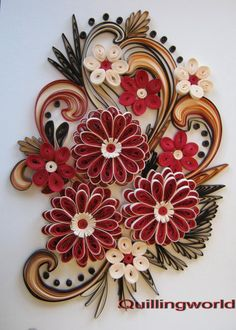 Download paper quilling art wallpapers gallery - Paper quilling art wallpapers ...