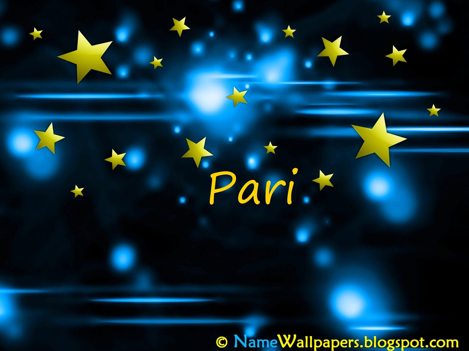 Pari Name Wallpaper