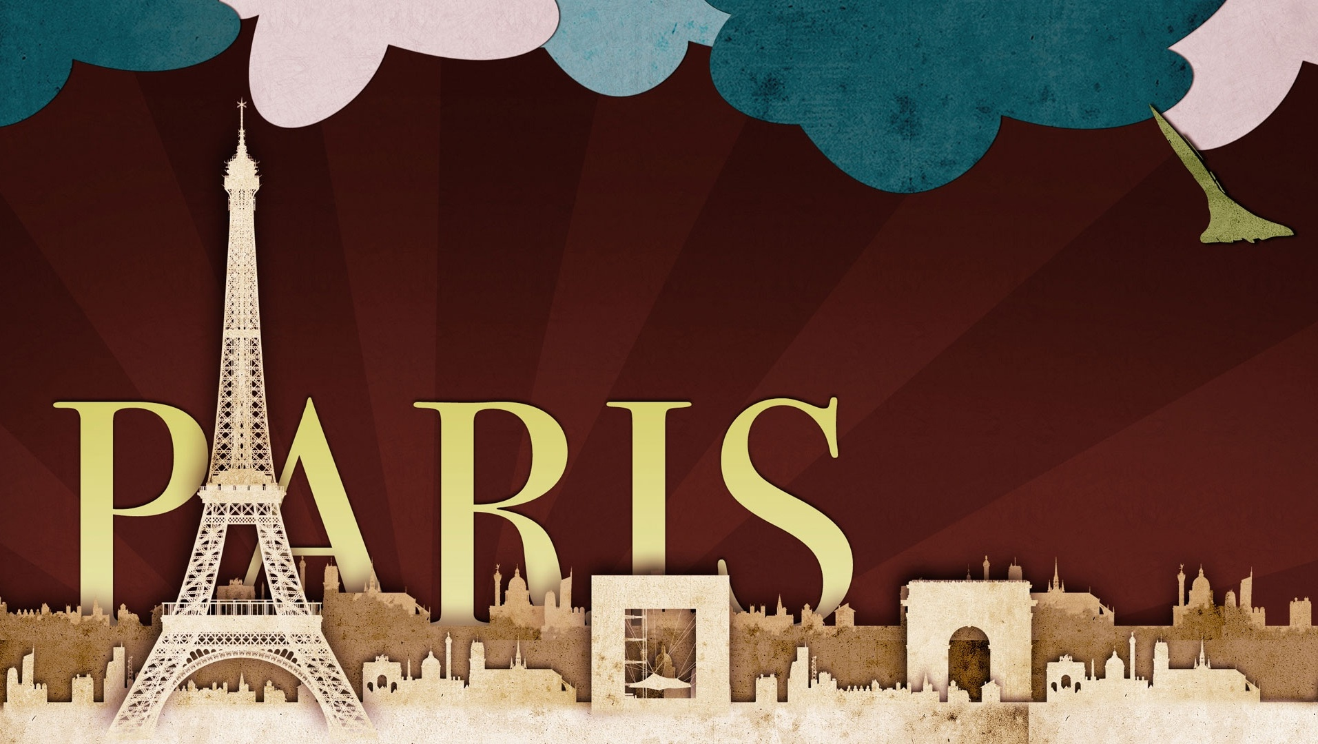 Paris Design Wallpaper