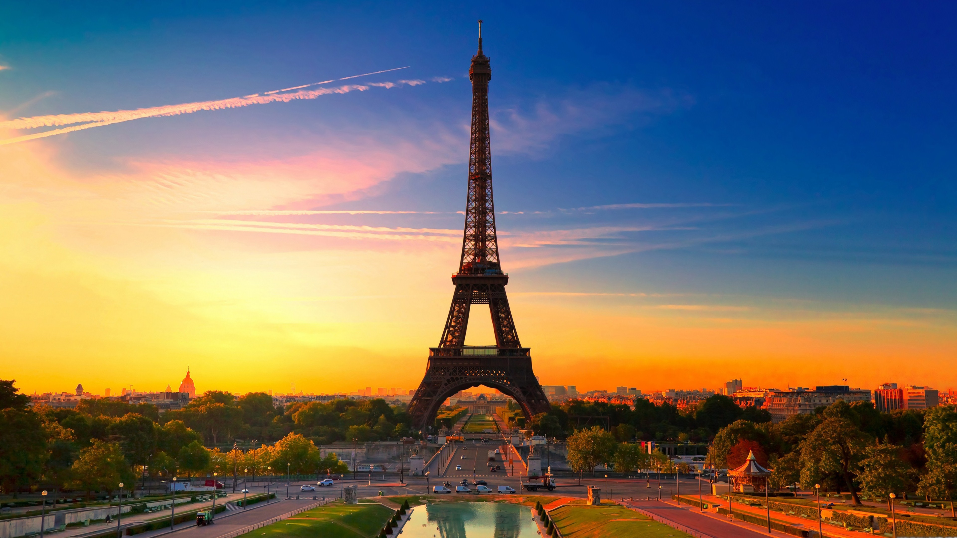 Paris Eiffel Tower Wallpaper