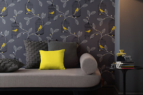 Paste On The Wall Wallpaper