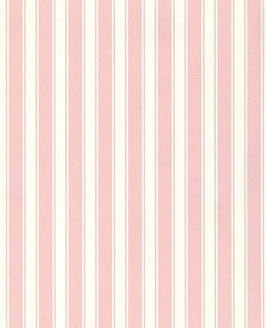 Pastel Pink Striped Wallpaper