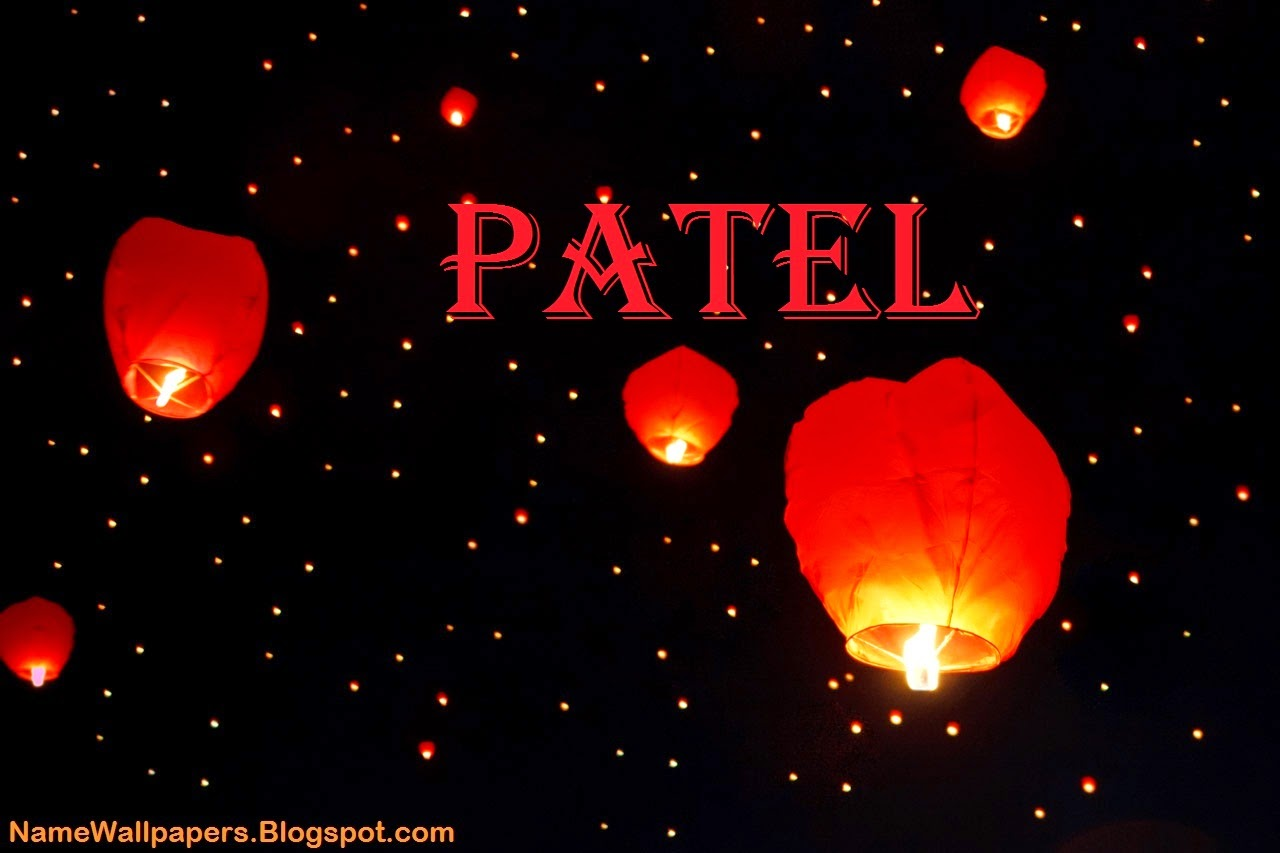 Patel Name Wallpaper