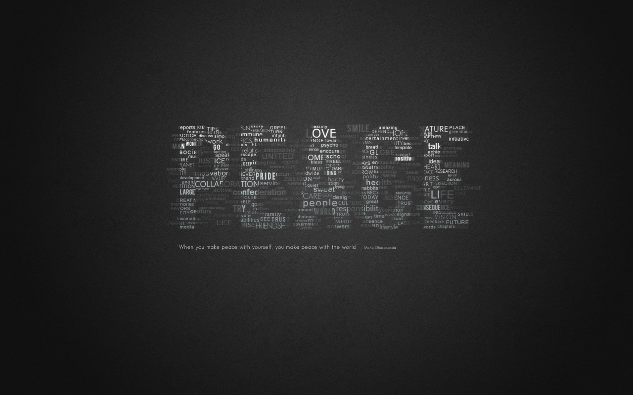 Peace Quotes Wallpaper