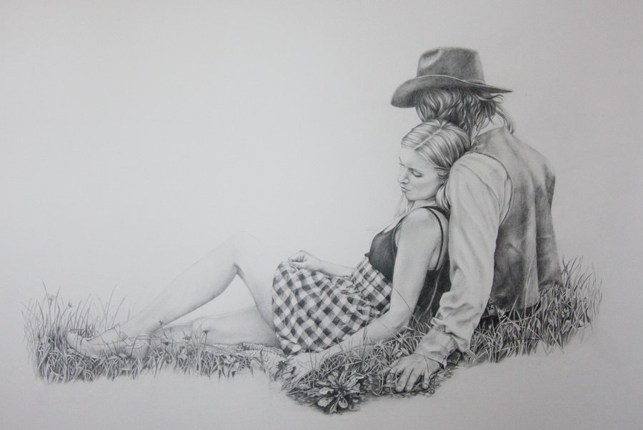 Pencil Art Love Wallpapers
