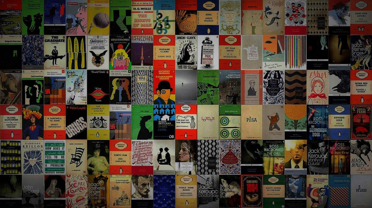 Penguin Book Phone Cover : Download penguin book cover wallpaper gallery