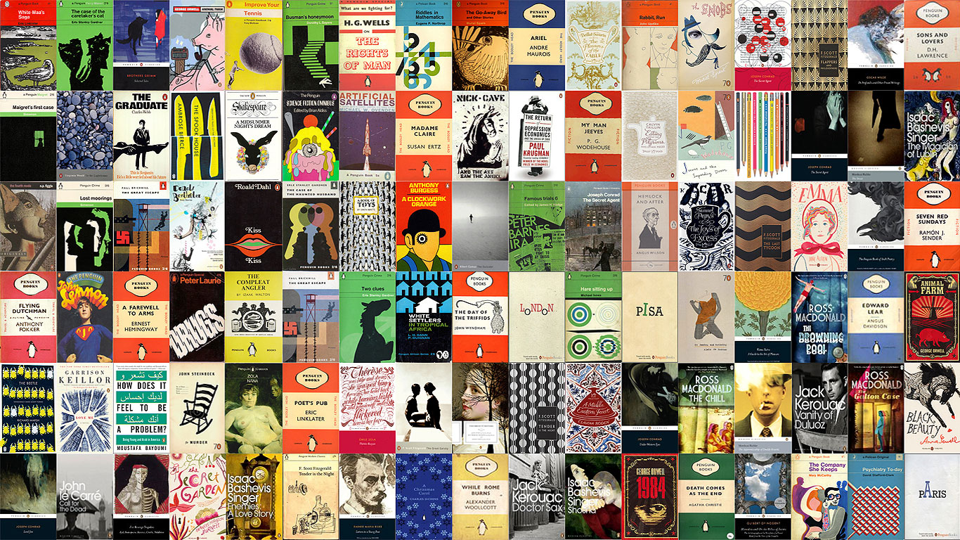 Penguin Book Cover Wallpaper