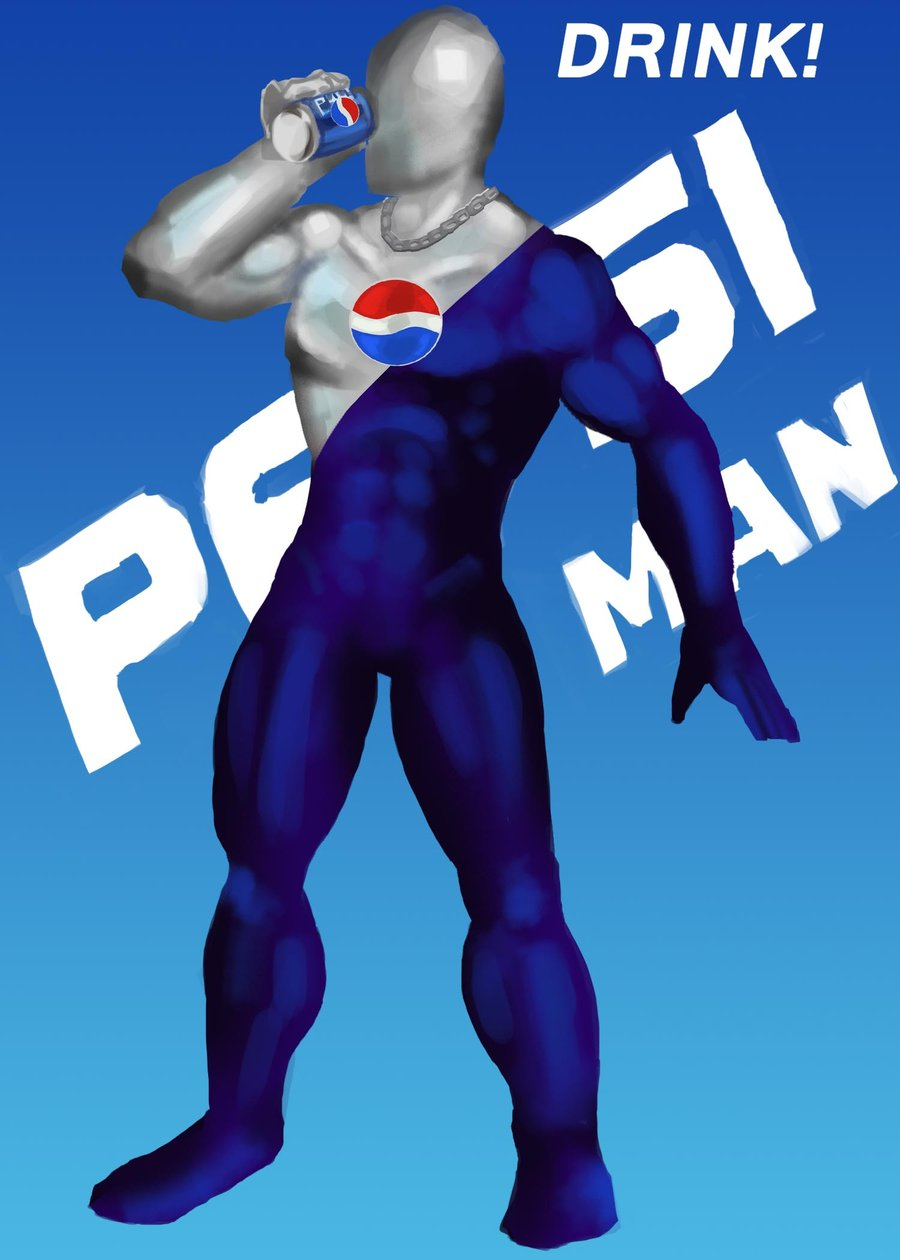 Pepsi Man Wallpaper