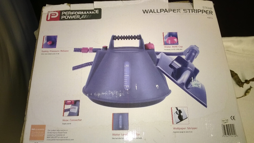 Performance Power Wallpaper Steamer