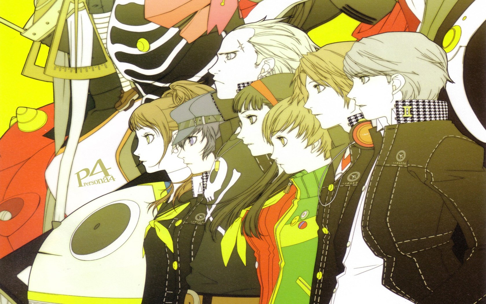 Persona 4 Phone Wallpaper