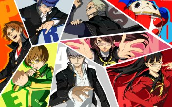 Persona 4 The Animation Wallpaper