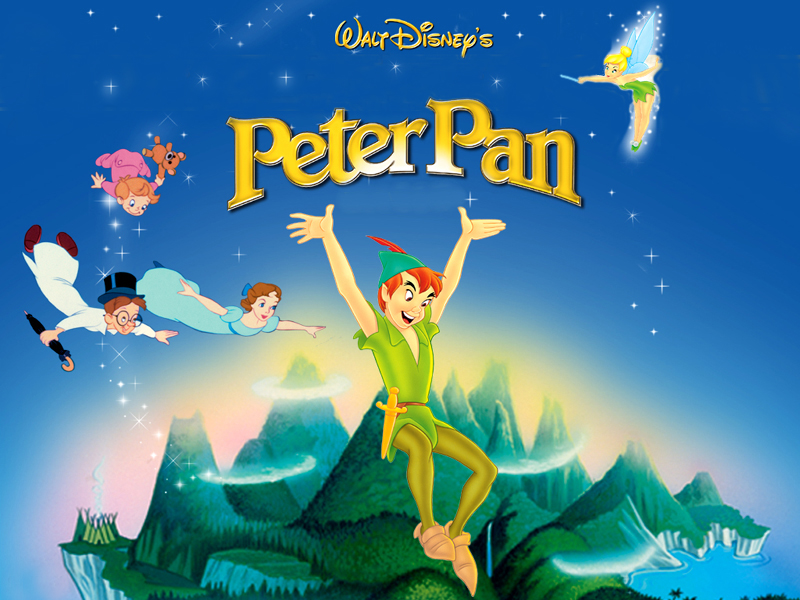 Peter Pan Disney Wallpaper