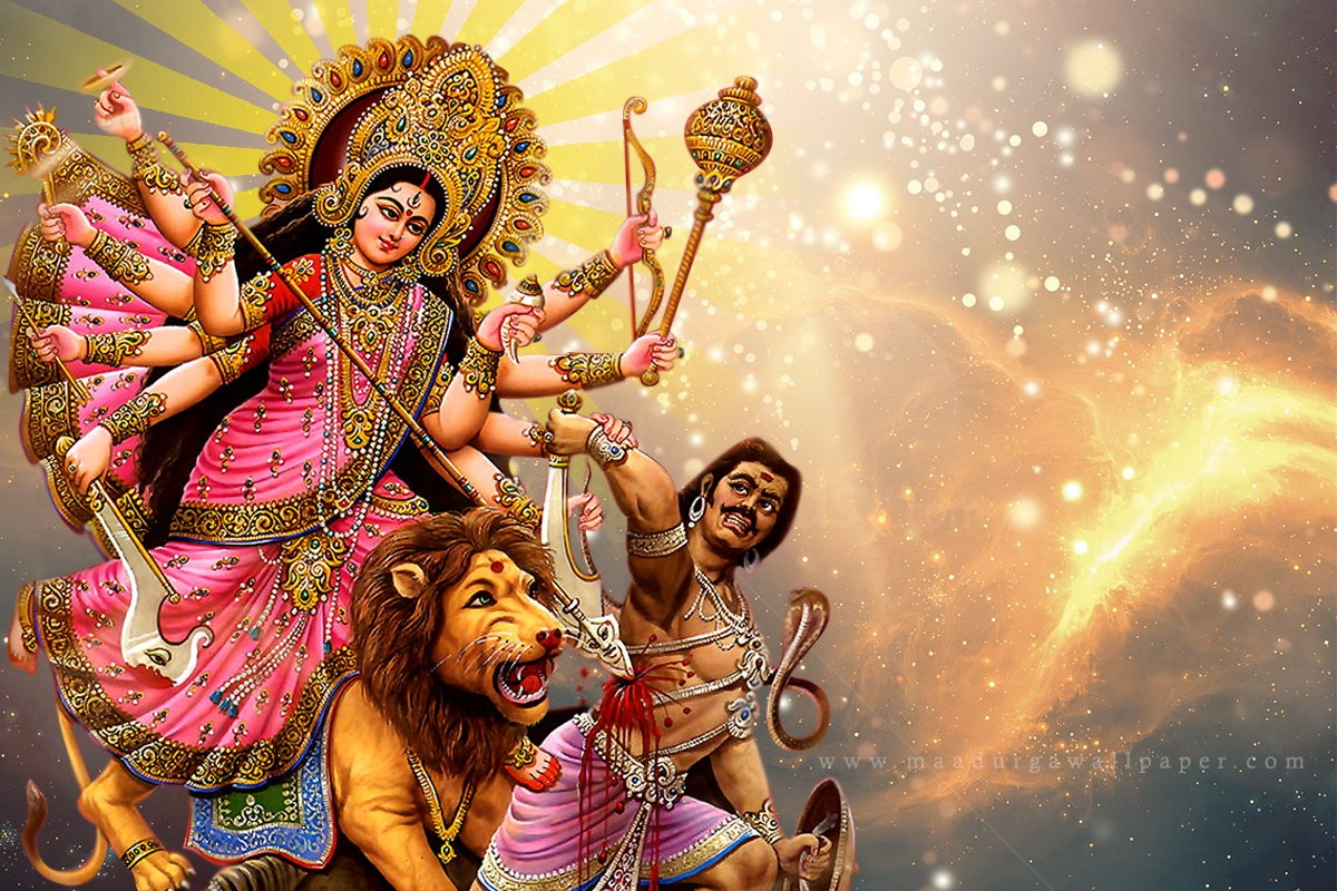Picture Of Maa Durga Wallpaper