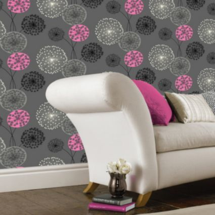 Pink And Black Wallpaper B&Amp;Q