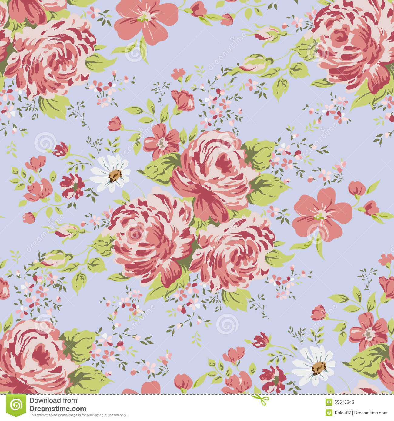 Download Pink And Blue Vintage Wallpaper Gallery
