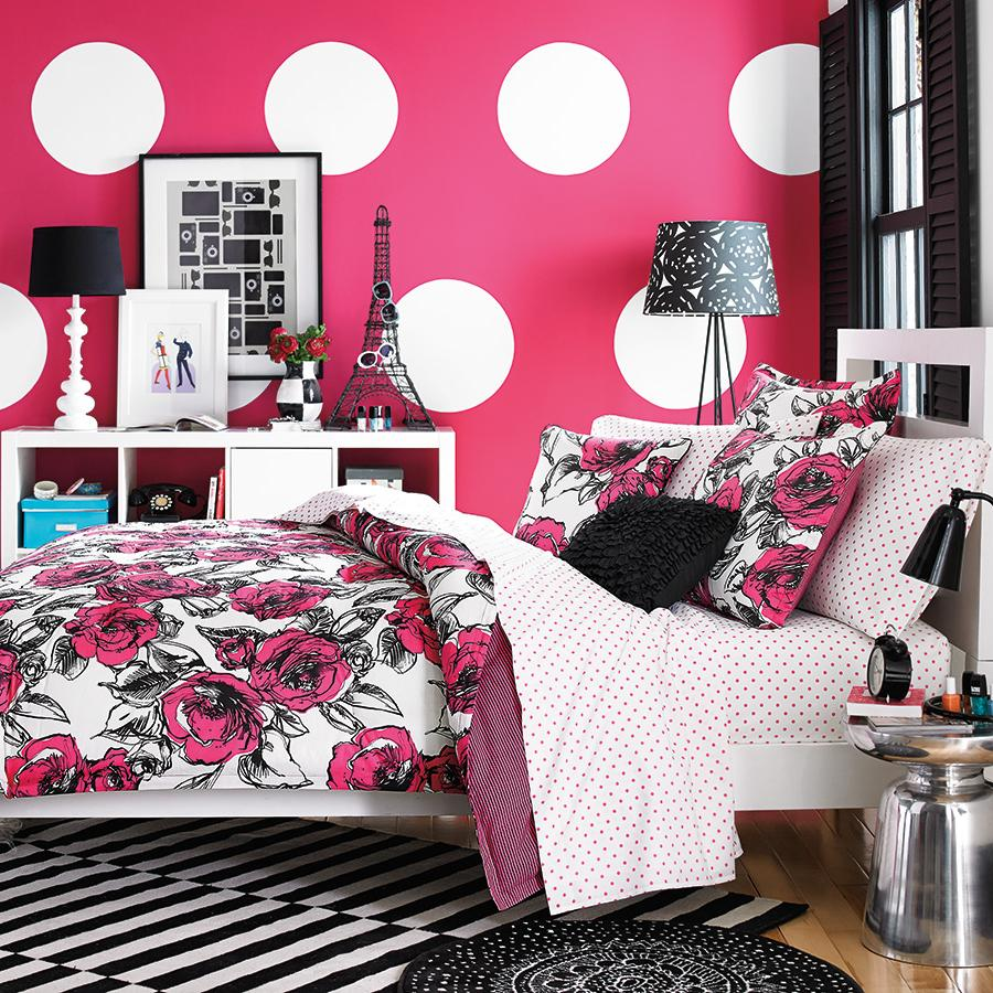 Download Pink And White Bedroom Wallpaper Gallery
