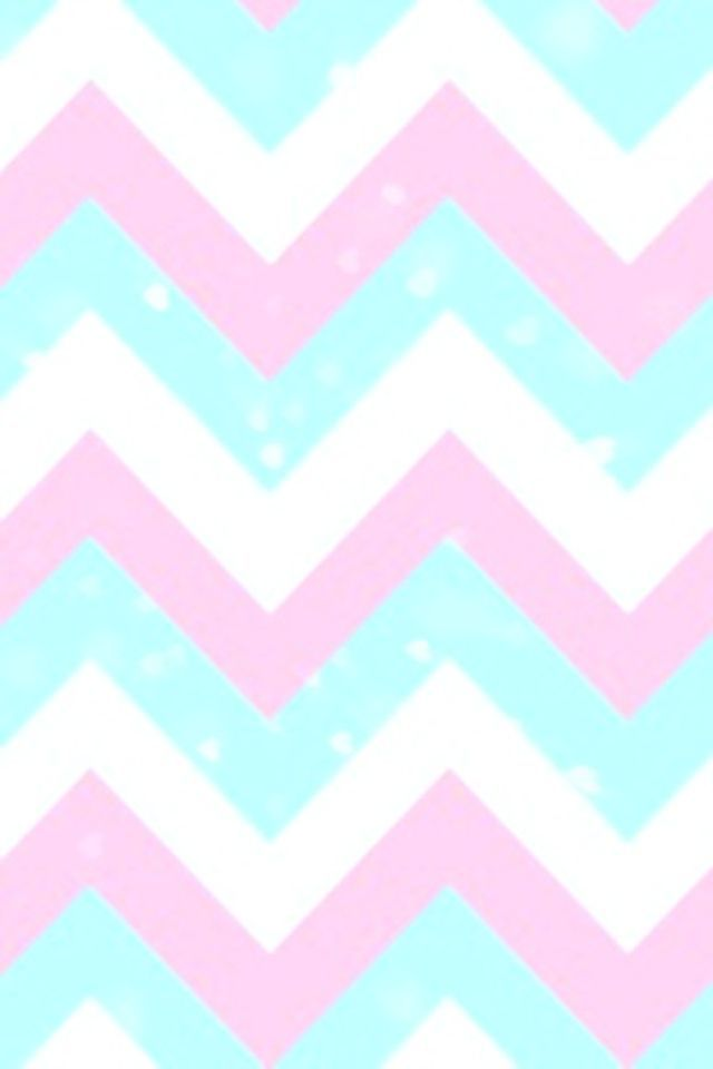 Pink And White Chevron Wallpaper