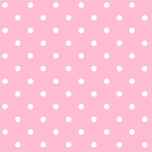 Pink And White Polka Dots Wallpaper