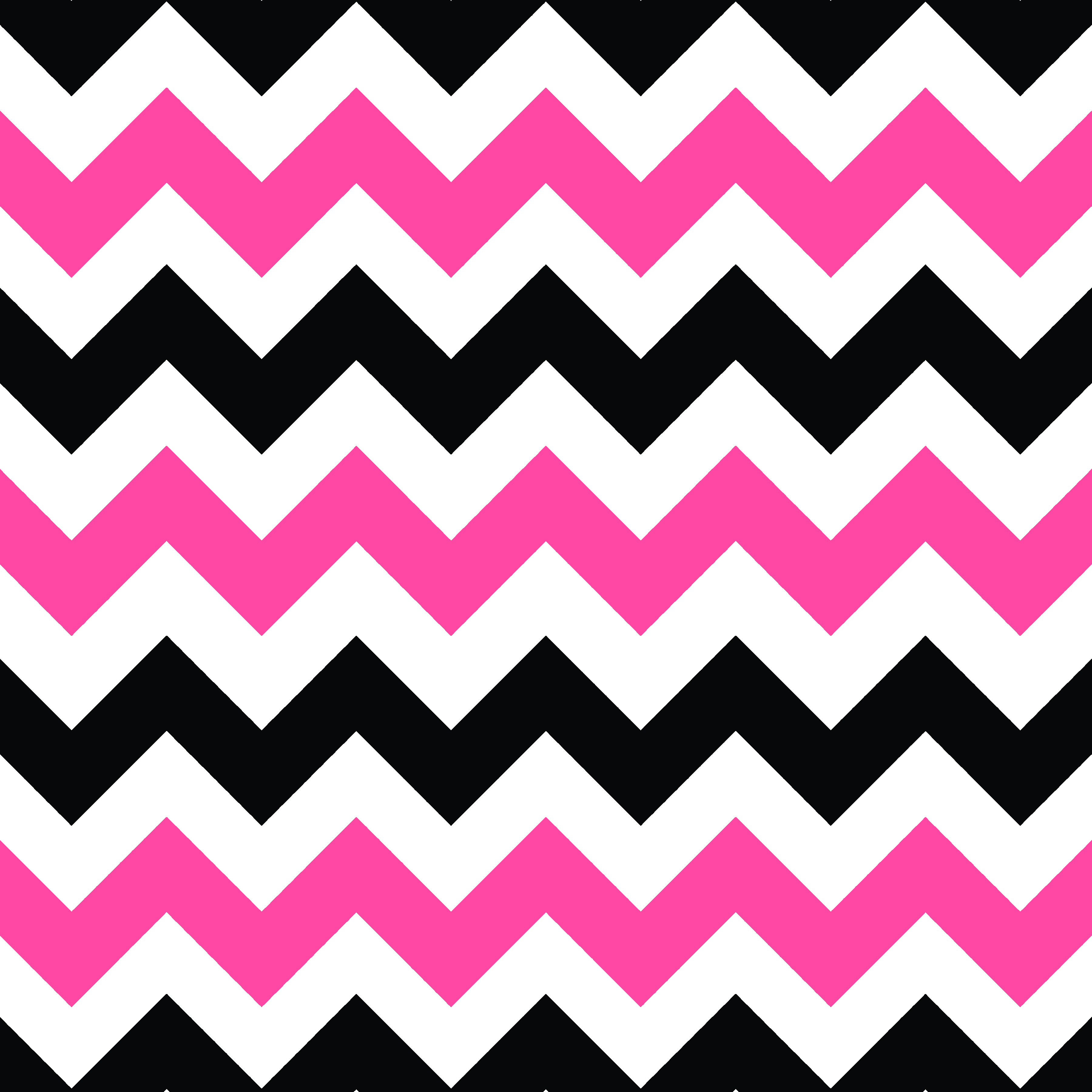 Pink And White Zig Zag Wallpaper