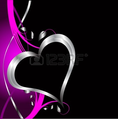 Download pink black and silver wallpaper gallery for Pink and silver wallpaper