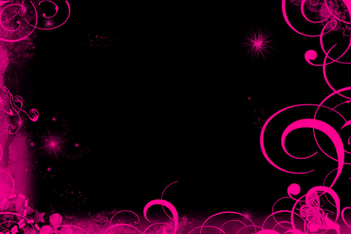 Pink Black Wallpaper
