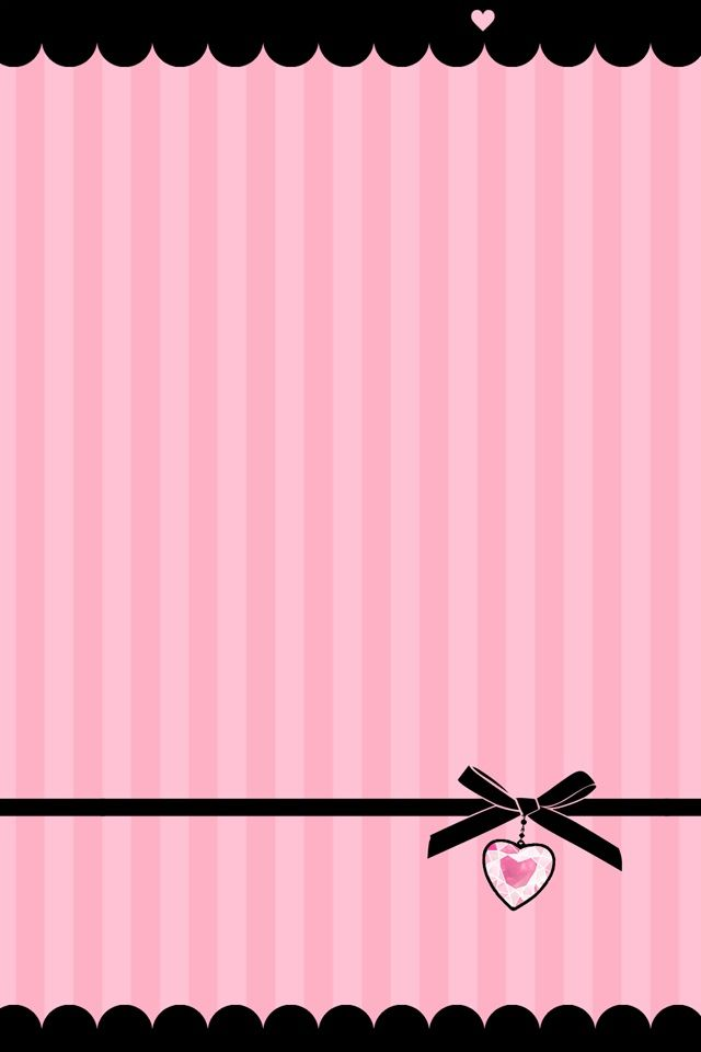 Pink Bow Wallpaper