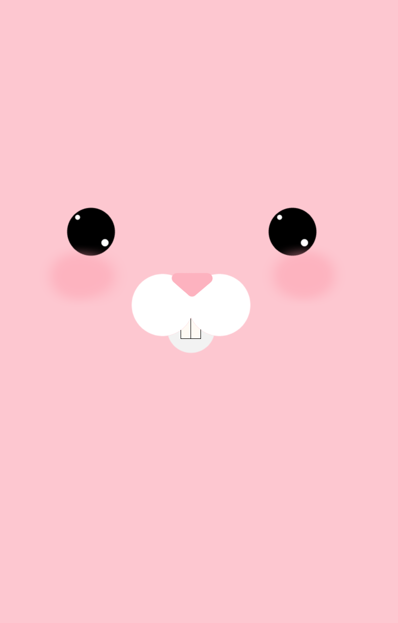 Pink Bunny Wallpaper