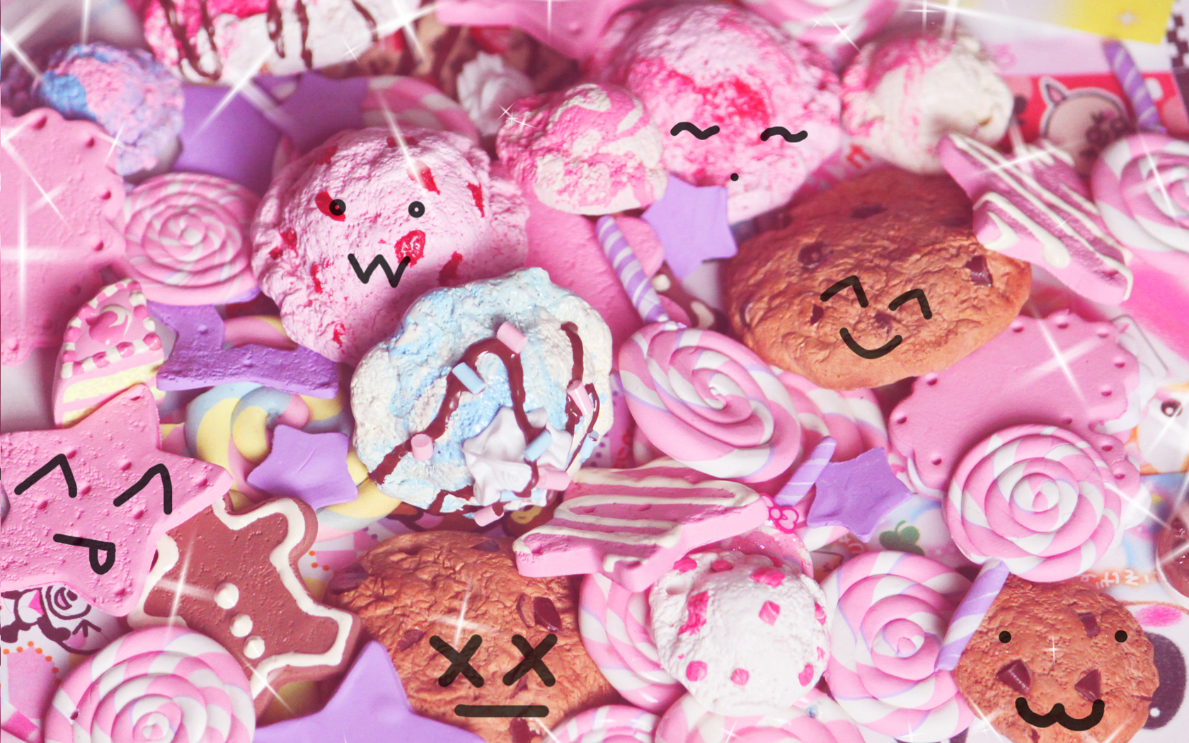 Pink Candy Wallpaper