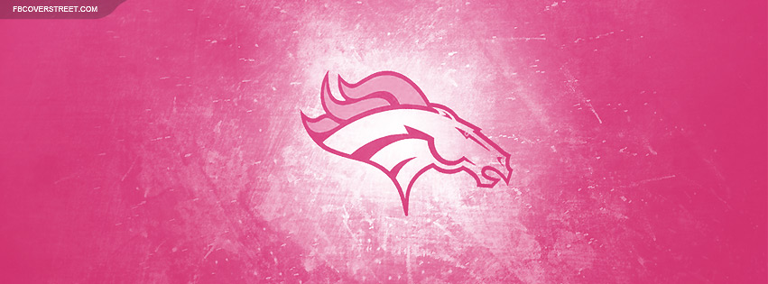 Pink Denver Broncos Wallpaper