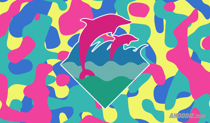 Pink dolphin wallpaper hd - Pink dolphin logo wallpaper ...