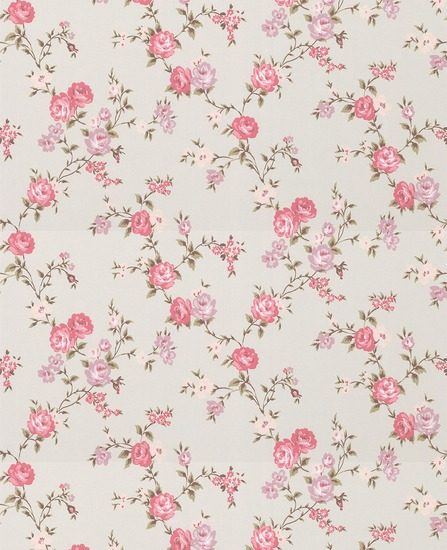 Pink Flower Wallpaper Pattern 25700 Movieweb