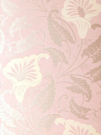 Pink French Wallpaper