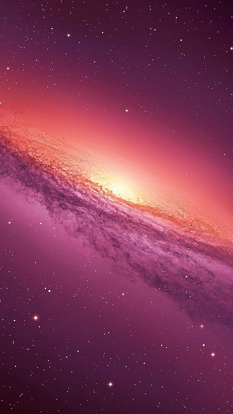 Pink Galaxy Iphone Wallpaper