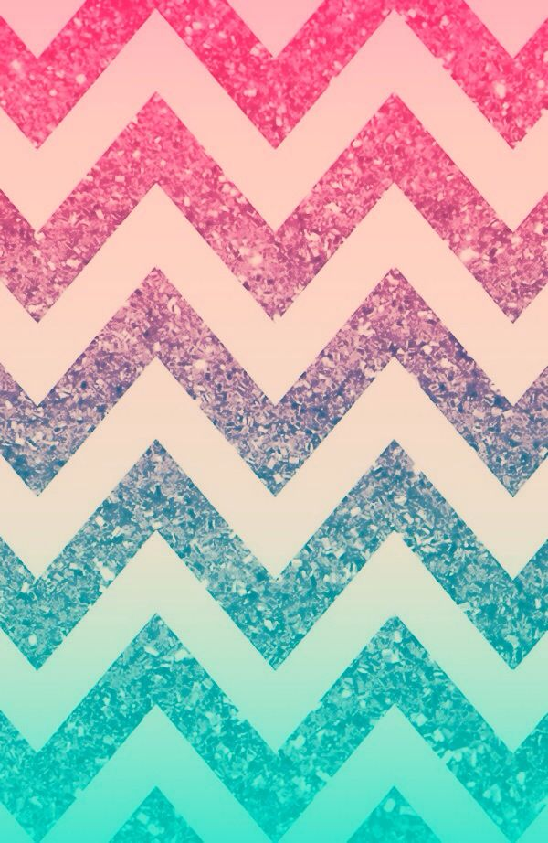 Pink Glitter Chevron Wallpaper