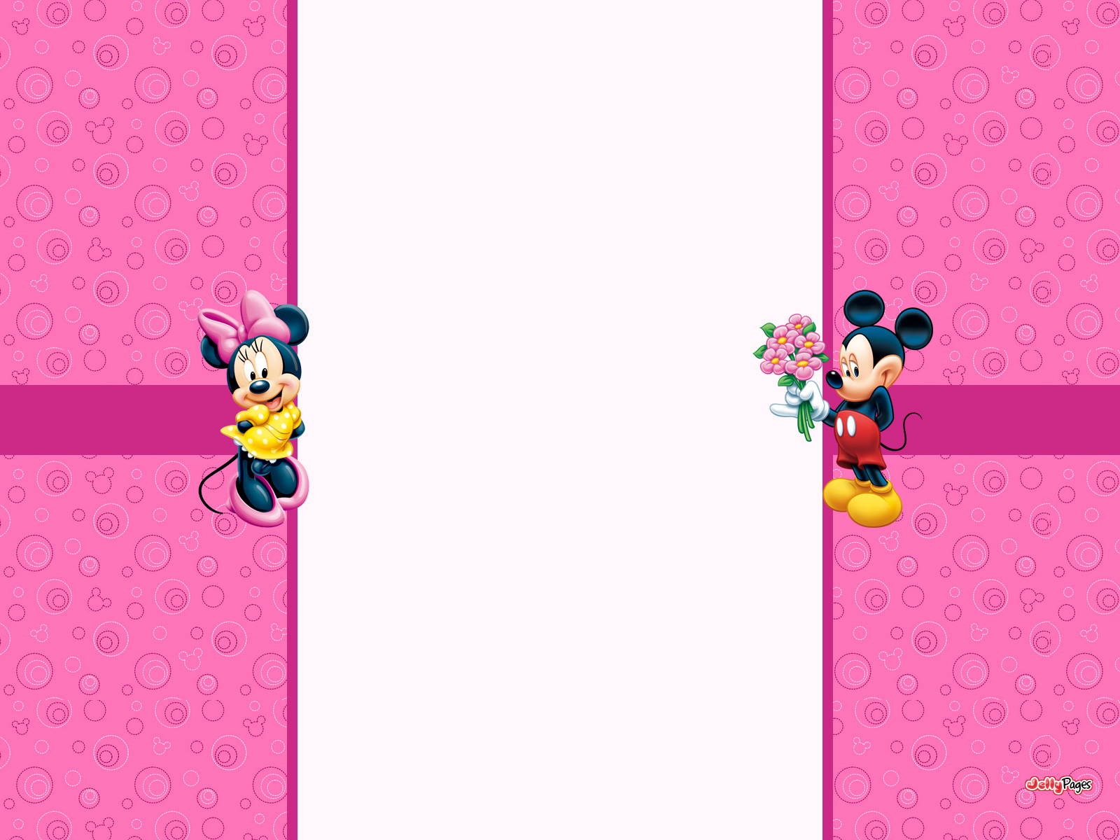 Minnie Mouse Wall Decor Mickey Decals Amazing Wallpaper Border
