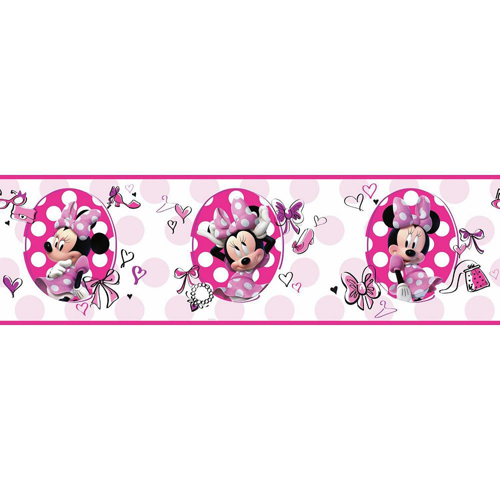 Minnie Mouse Border Collection 10 Wallpapers