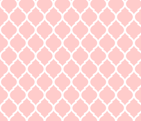 Pink Moroccan Wallpaper