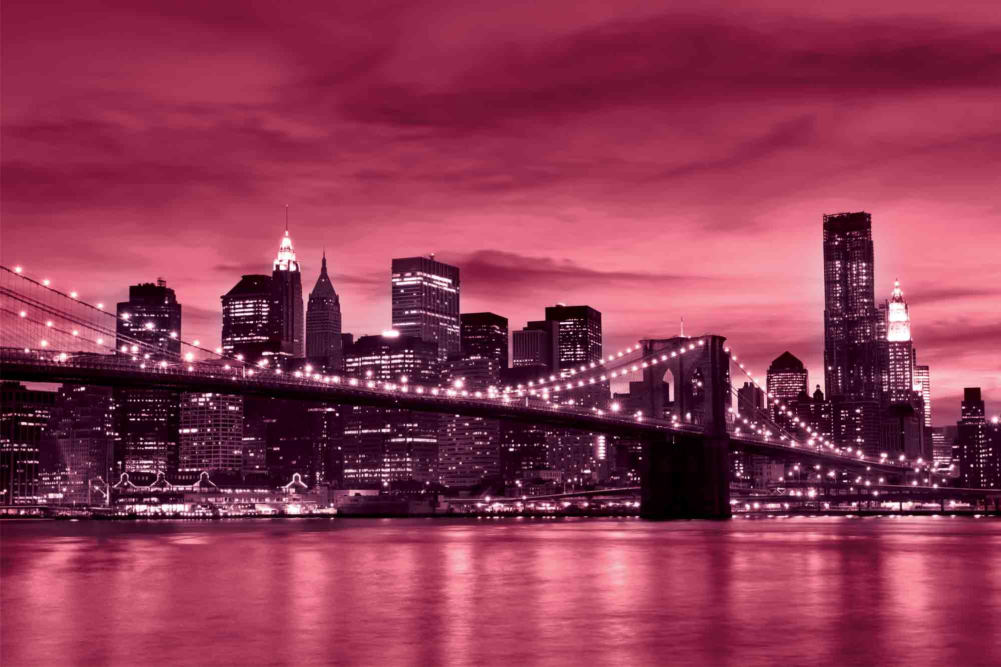 Download Pink New York Wallpaper Gallery