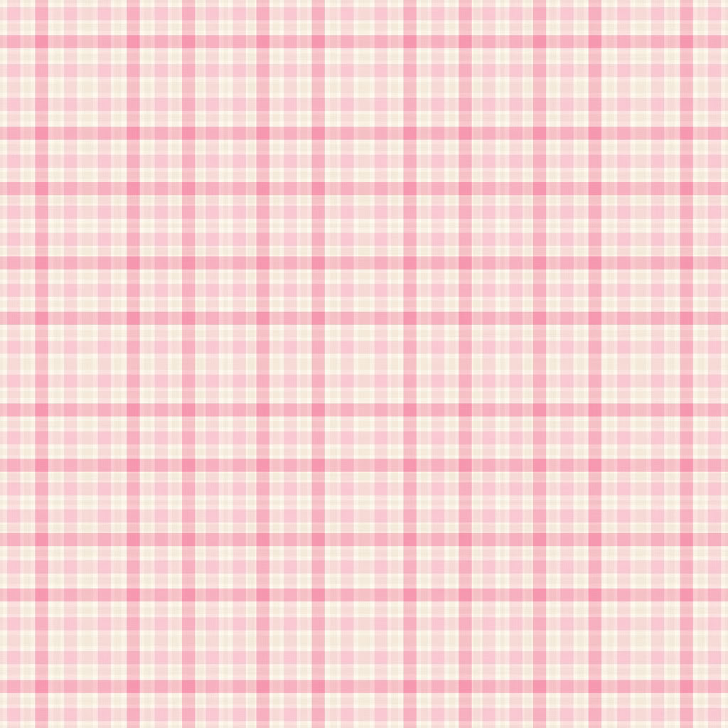 Pink Plaid Wallpaper