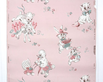 Pink Poodle Wallpaper