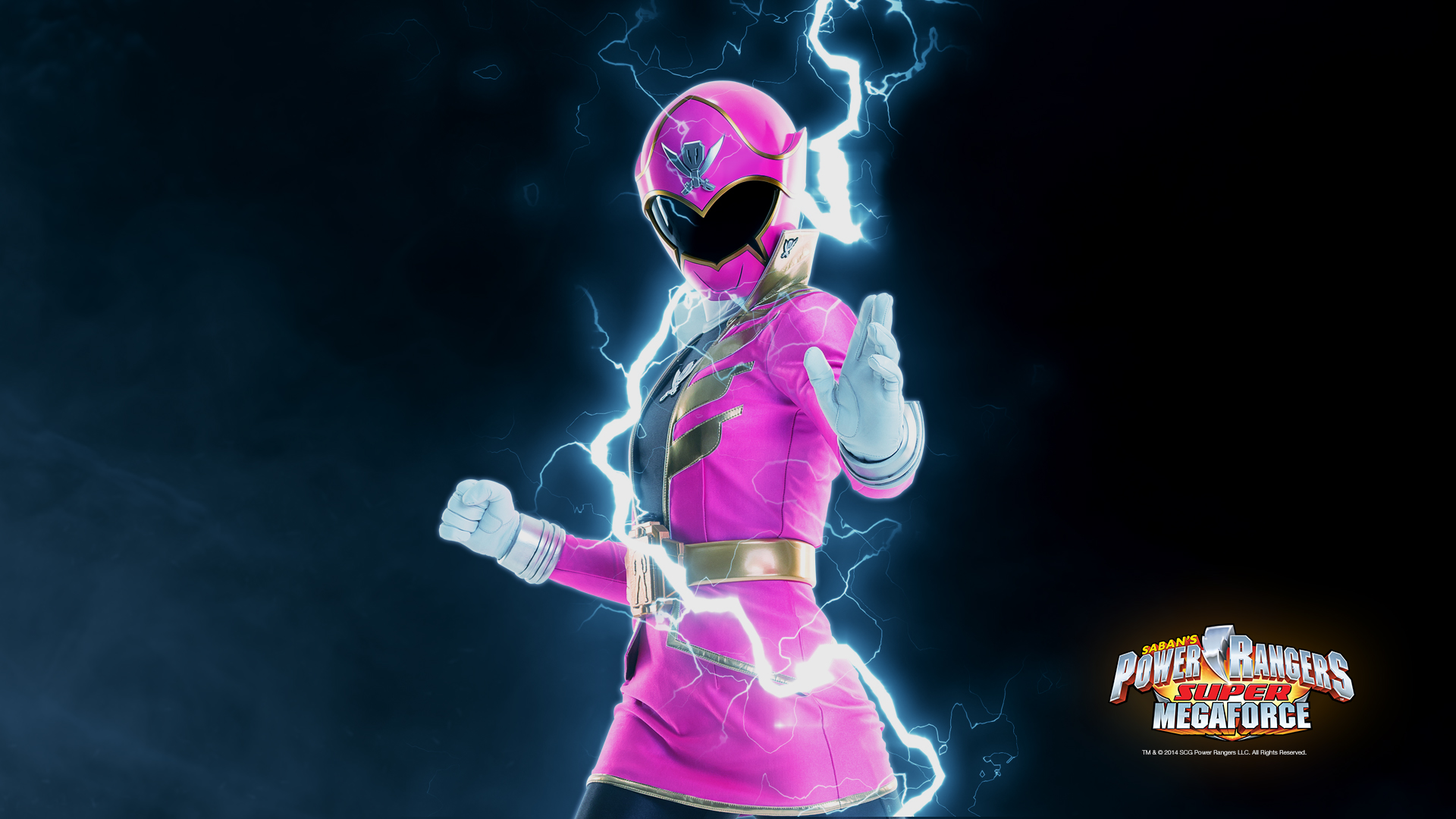 Pink Power Ranger Wallpaper
