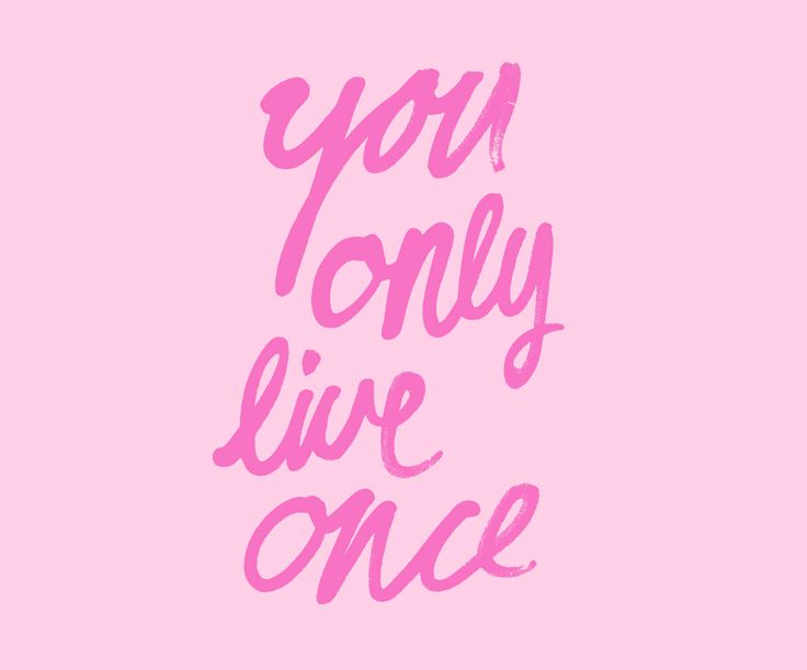 Pink Quotes Wallpaper
