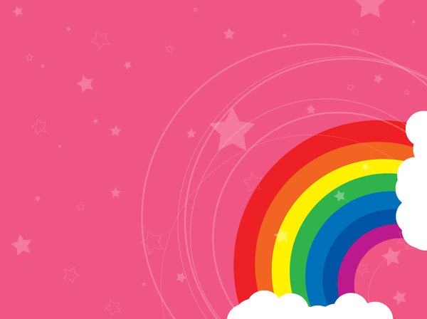 download pink rainbow wallpaper gallery