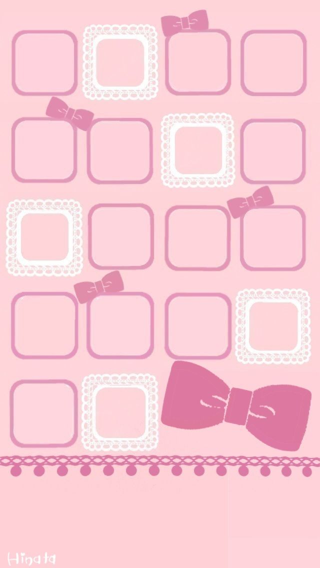 Group Of Pink Bow Wallpaper Tumblr