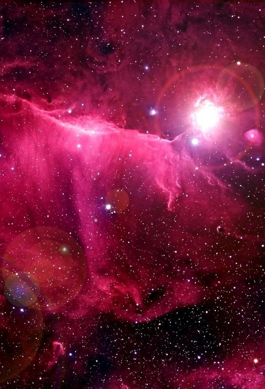 Pink Space Wallpaper