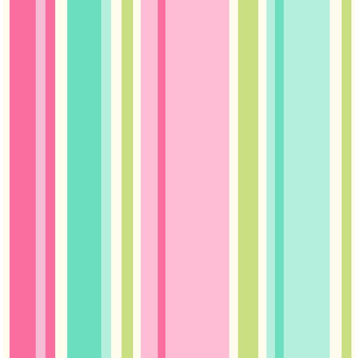 Pink Stripe Wallpaper