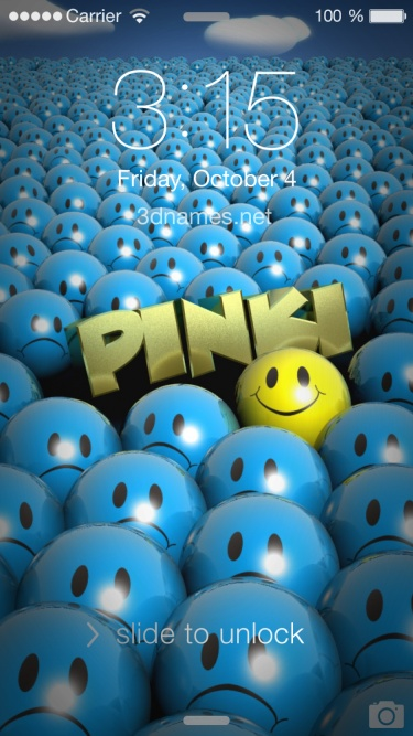 Pinki Name Wallpaper