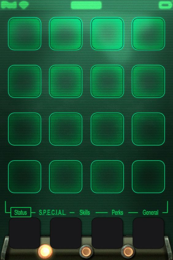 Pip Boy Iphone Wallpaper