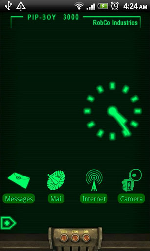 Pipboy 3000 Live Wallpaper Apk